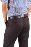 Man in trousers Royalty Free Stock Photo