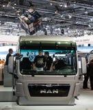 MAN truck cabin Royalty Free Stock Image