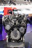 MAN truck diesel engine Stock Photos