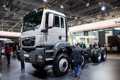 MAN truck TGS 44.480 chassis Stock Image