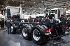 MAN truck TGS 44.480 chassis Royalty Free Stock Image