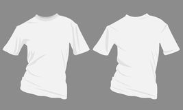 Man tshirt. Illustration of a tshirt  on the grey background Royalty Free Stock Photography
