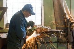 Man turner working Stock Photos