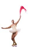 The man in tutu performing ballet dance Stock Photos