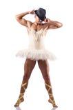 Man in tutu performing ballet dance Stock Photo
