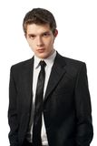 Man in a tuxedo. Very satisfied man in a tuxedo Stock Images