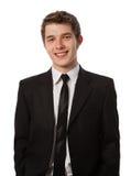 Man in a tuxedo. Very satisfied man in a tuxedo Royalty Free Stock Photo