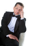 A man in a tuxedo Royalty Free Stock Photo