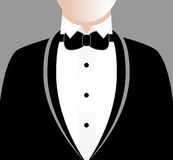 Man in Tuxedo Stock Images