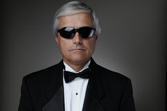 Man In Tuxedo Portrait with Sunglasses Royalty Free Stock Photography