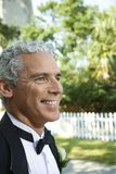 Man in tuxedo smiling. Royalty Free Stock Photos