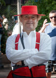 Man with typical costumes of Andalucia in Spain Fuengirola Fair Royalty Free Stock Images