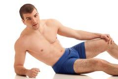 Man in Underwear Stock Photos