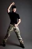 Man in uniform Stock Image