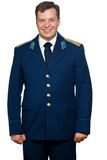 Man  in uniform of russian military air forces Stock Images