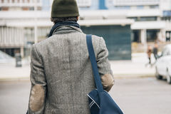 Man urban city Stock Photography