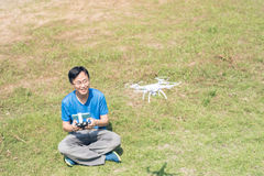 Man use drones Stock Photography