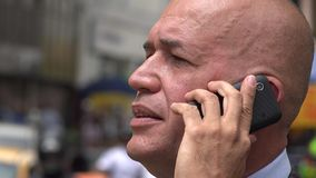 Man Using Cell Phone, Cellular, Mobile Phone stock footage