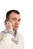 Man using mobile phone Stock Photo
