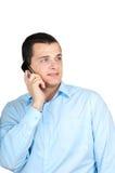Man using phone Royalty Free Stock Photos