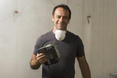 Man Using Saw - horizontal Stock Photos