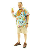 Man on vacation Royalty Free Stock Photography