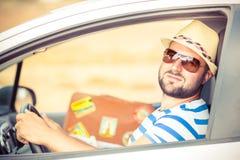 Man on vacation Stock Photo