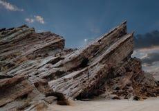 Man at Vasques Rocks Stock Image