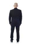 #Man in vestito da dietro Fotografia Stock Libera da Diritti