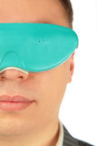 Man with virtual glasses Stock Photo