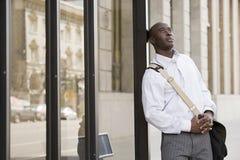 Free Man Waiting At Bus Stop Stock Photos - 62807513
