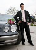 Man waiting for his date Royalty Free Stock Image