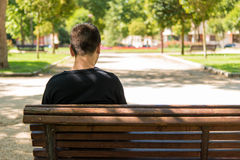 Man waiting Royalty Free Stock Image