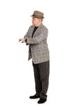 Man waiting for someone. Royalty Free Stock Image