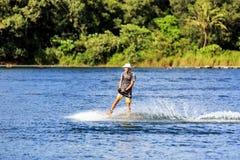 Man Wakeboarding Stock Photo