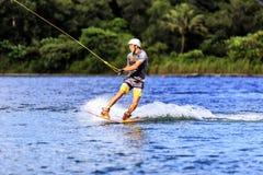 Man Wakeboarding Stock Photos