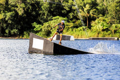 Man Wakeboarding Stock Photography