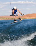 Man wakeboarding at Lake Powell 16 Stock Image