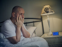 Man wakes up Stock Images