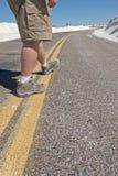 Man walking Stock Image
