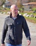 Man walking Royalty Free Stock Photo