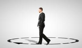 Man walking Stock Images