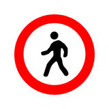 A Man Walking icon great for any use. Vector EPS10. Royalty Free Stock Images