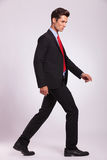 Man walking and looking forward Stock Photography