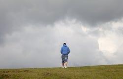 Man walking Royalty Free Stock Image