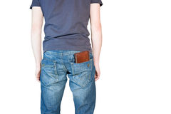 Man with wallet Stock Photo