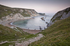 Man of War Bay, Jurassic Coast, Dorset Stock Images