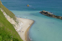 Man of War Bay near Durdle Door. Dorset, England UK The Jurassic coast a UNESCO World Heritage site Stock Photo