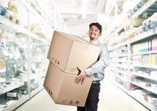 Man in warehouse Stock Photos