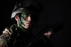 Man warrior Stock Photos